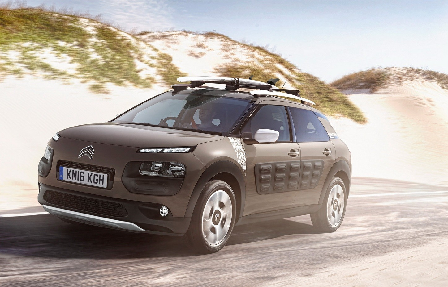 citroen c4 cactus rip curl available in britain from. Black Bedroom Furniture Sets. Home Design Ideas