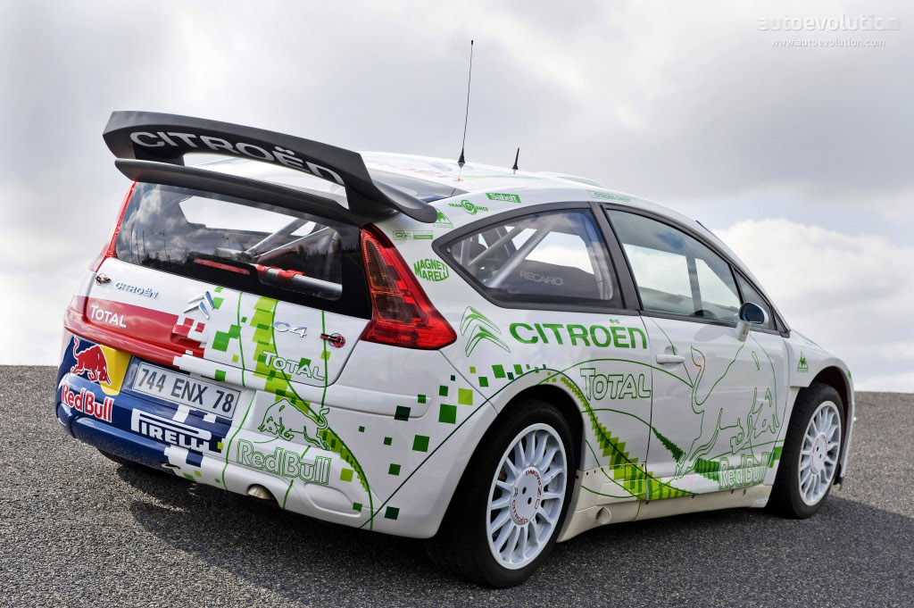 citroen c4 wrc hybrid4 official test and photos. Black Bedroom Furniture Sets. Home Design Ideas