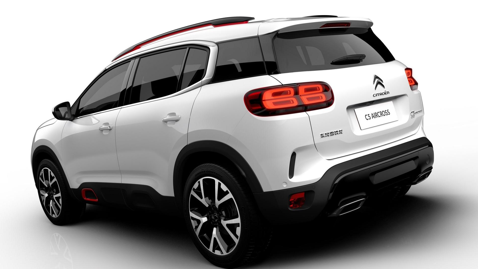 Citroen Hybrid Air >> Citroen C5 Aircross SUV Hybrid Concept Looks Almost Ready For Production - autoevolution