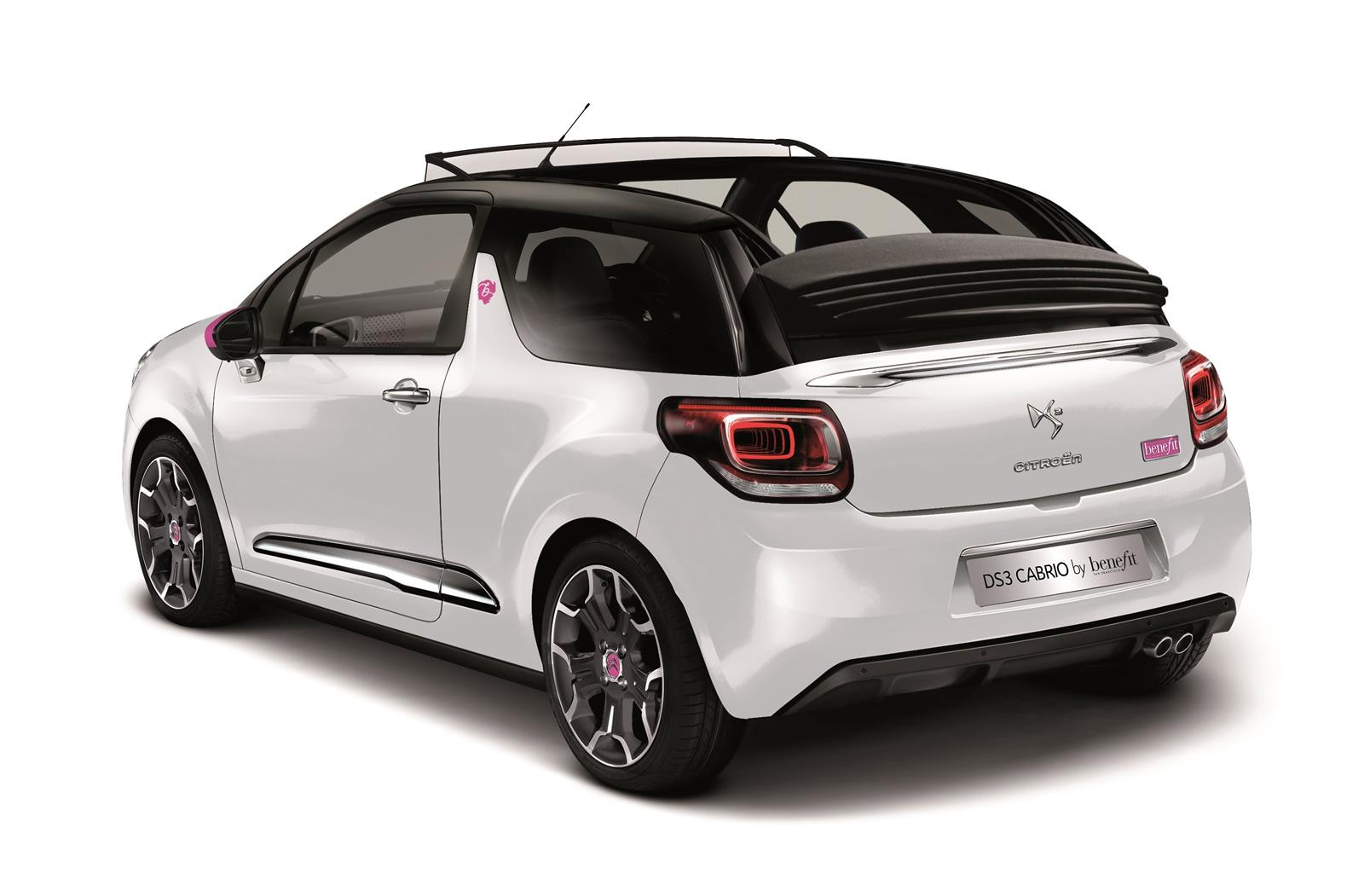citroen ds3 cabrio gets the dstyle by benefit treatment. Black Bedroom Furniture Sets. Home Design Ideas