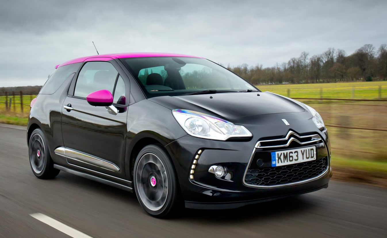 Citroen Ds3 Pink Edition Is For The Ladies Autoevolution