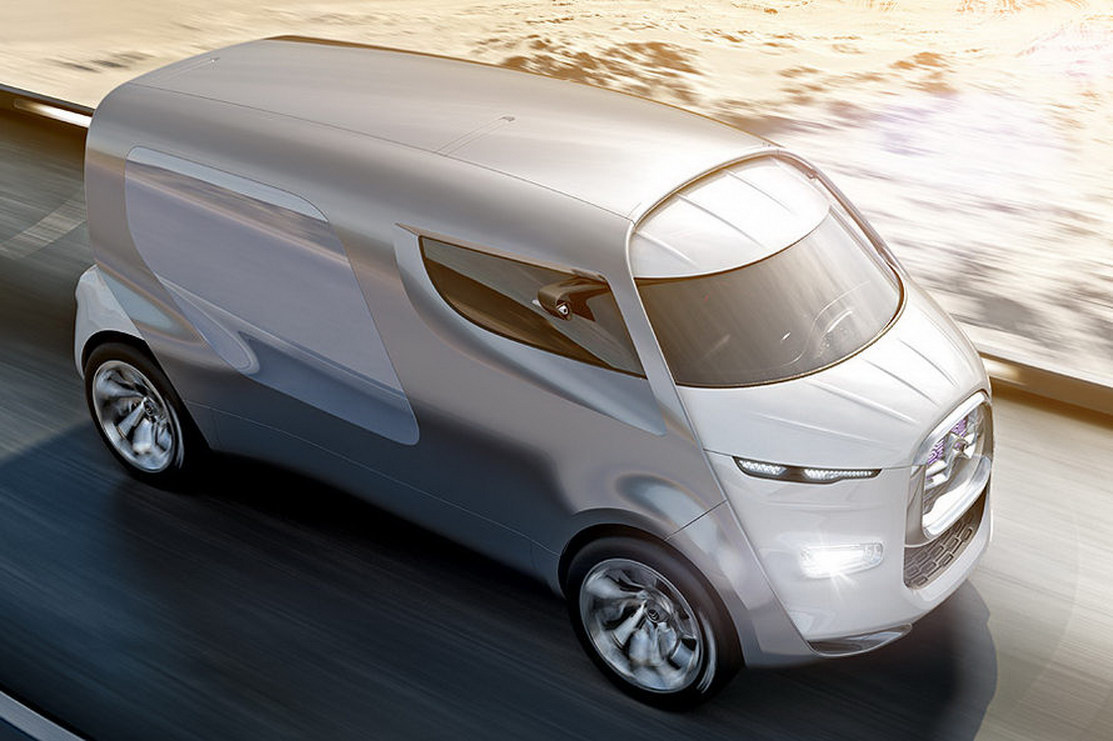 Citroen C4 Cactus >> Citroen Expresses Its Love for Vans With Tubik Concept - autoevolution