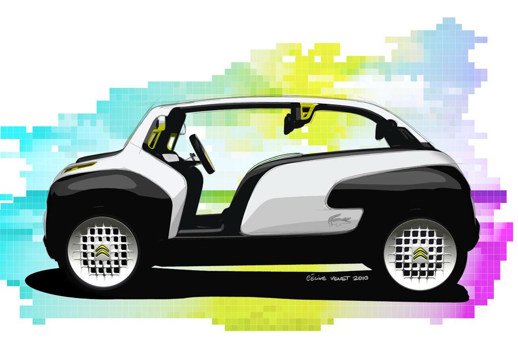 Citroen Lacoste Concept Unveiled Before Paris Debut Autoevolution