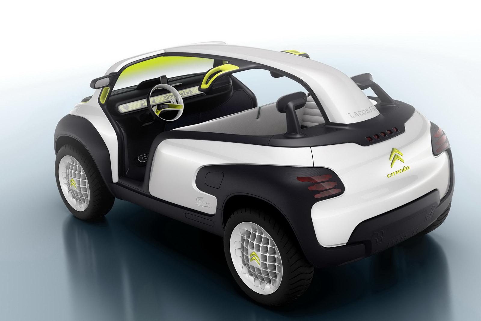 Citroen lacoste concept unveiled before paris debut autoevolution citroen lacoste concept vanachro Images