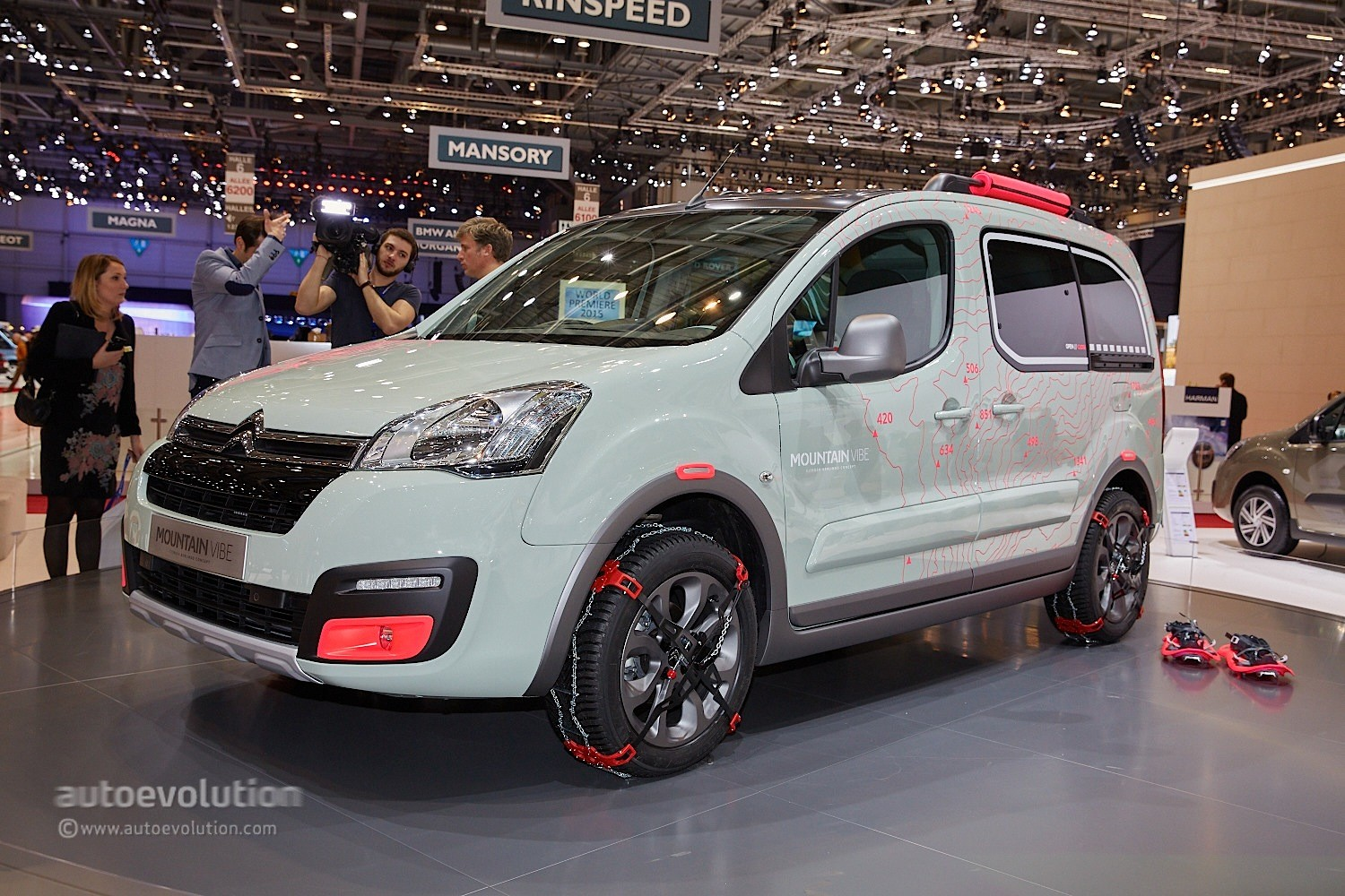 Citroen Previews 2016 Berlingo With Mountain Vibe Concept
