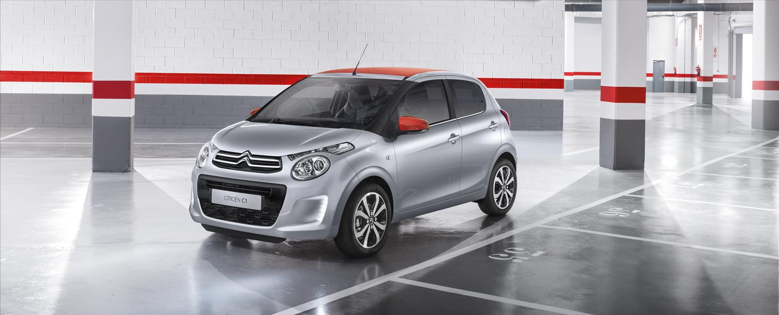 citroen reveals new c1 city car introduces airscape open top model autoevolution. Black Bedroom Furniture Sets. Home Design Ideas