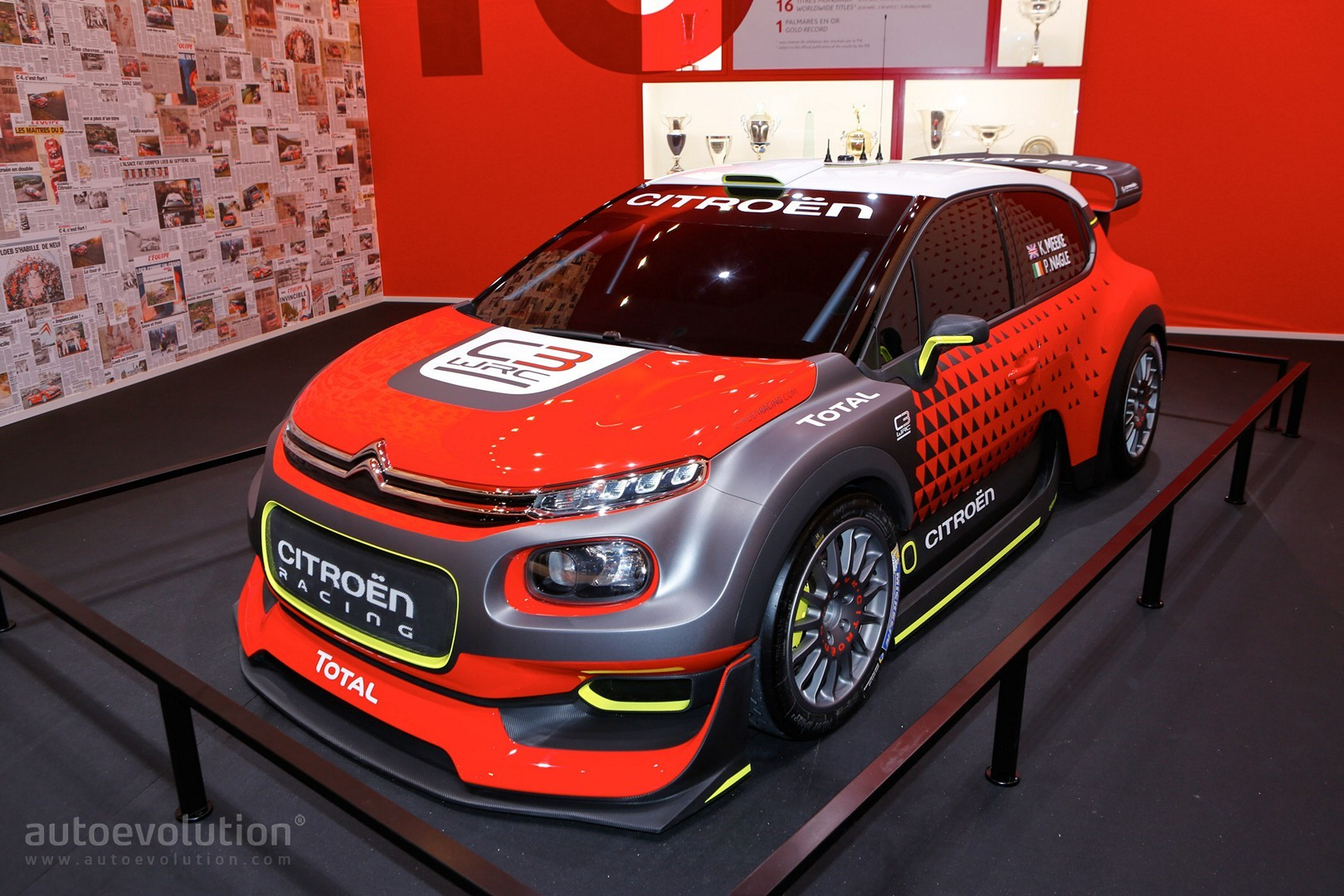 citroen 39 s c3 wrc is the most beautiful rally car in paris autoevolution. Black Bedroom Furniture Sets. Home Design Ideas