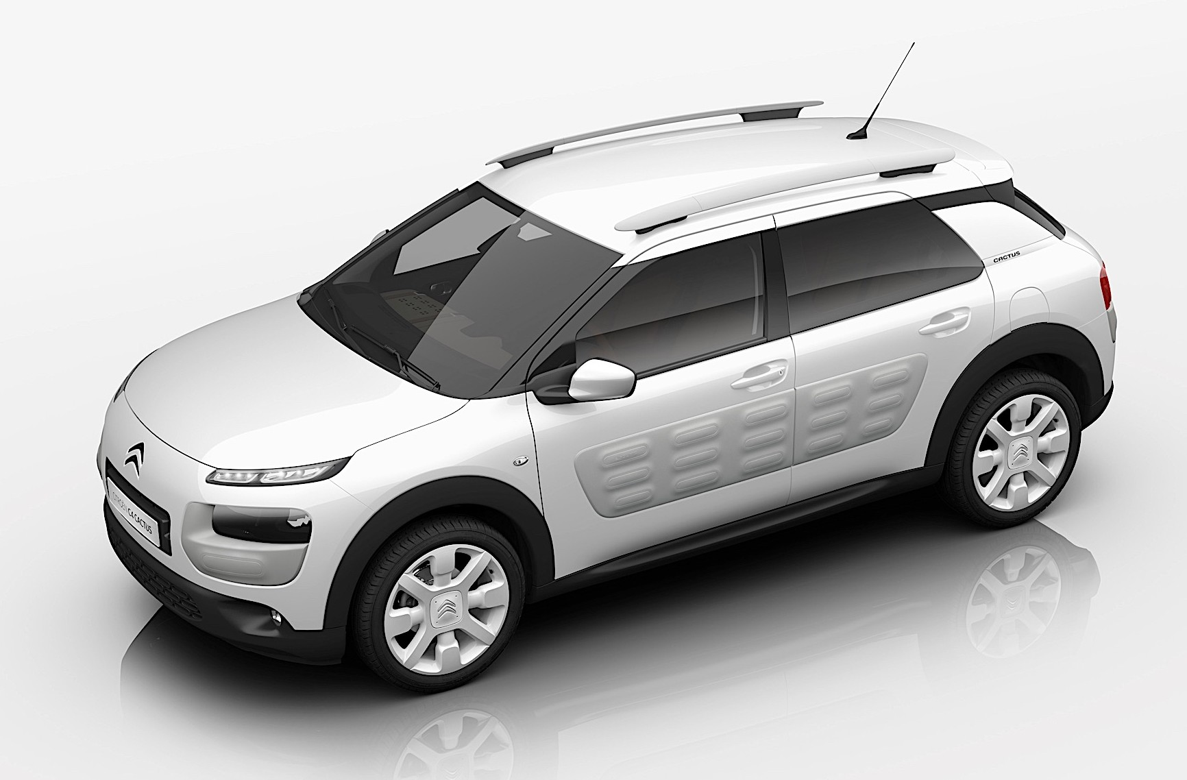 citroen c4 cactus crash tested gets 4 euro ncap stars. Black Bedroom Furniture Sets. Home Design Ideas