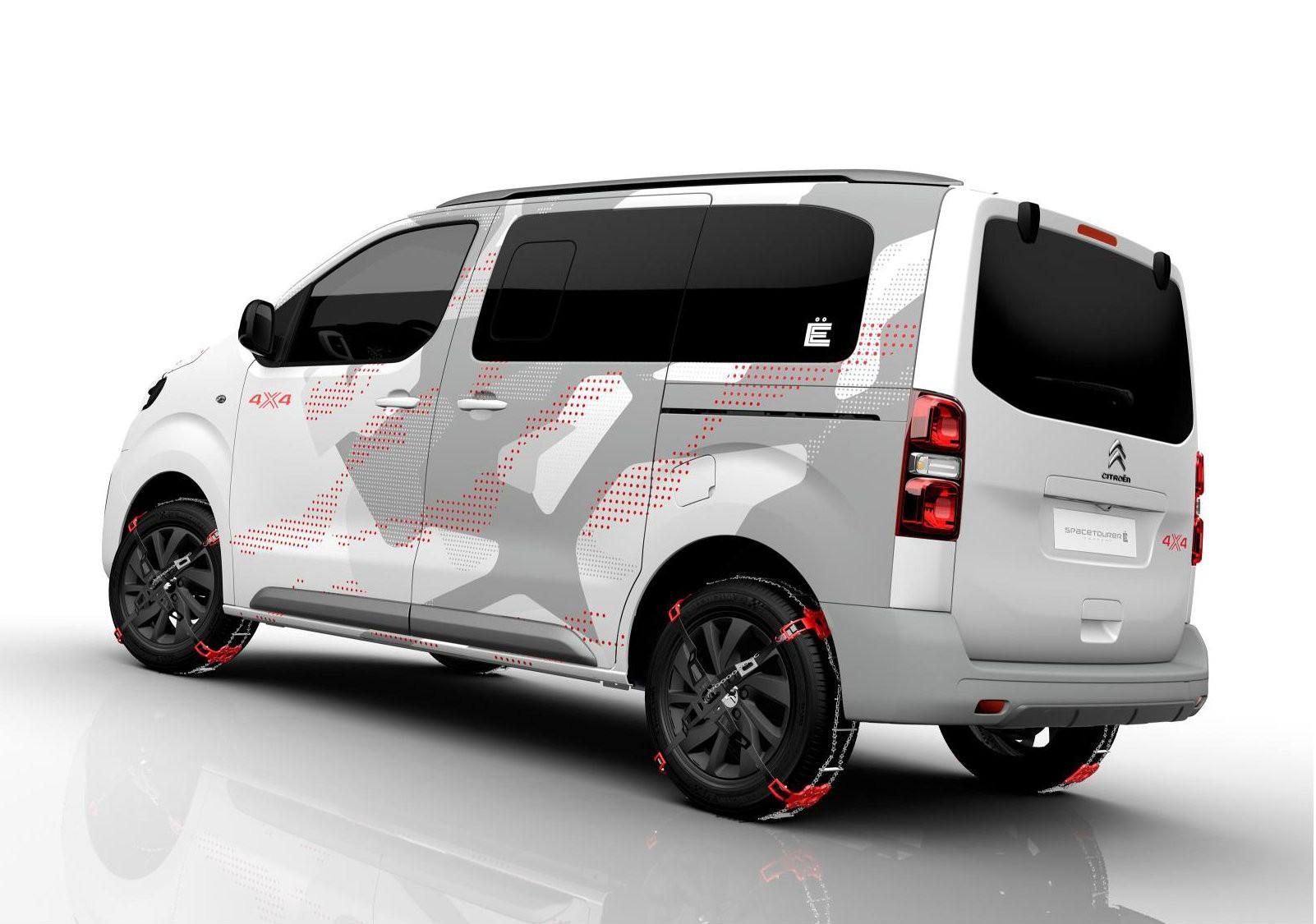 citroen spacetourer 4x4 e concept is geared up for adventure autoevolution. Black Bedroom Furniture Sets. Home Design Ideas