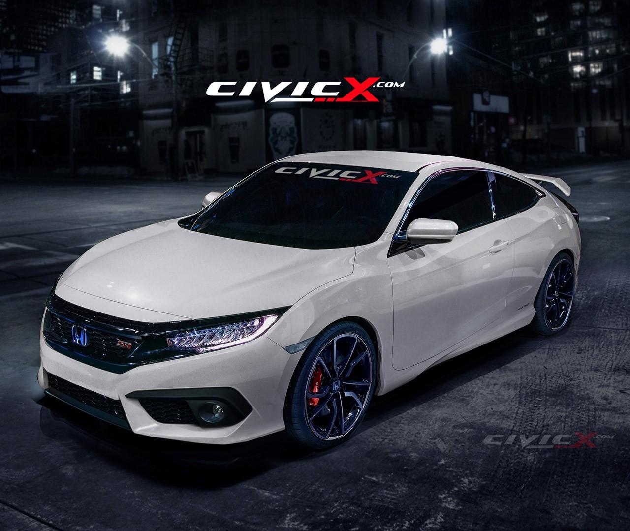 2017 Honda Civic Si Goes Turbo at 2016 Los Angeles Auto ...