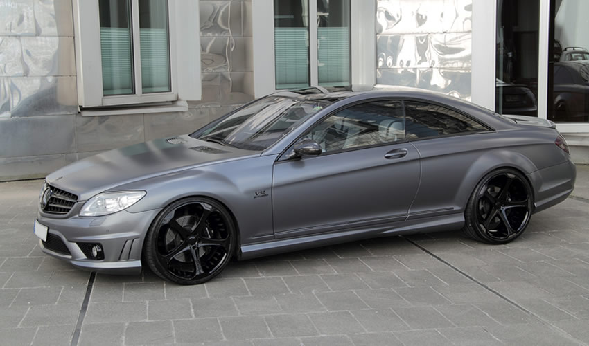 cl 65 amg grey stone editionanderson germany - autoevolution