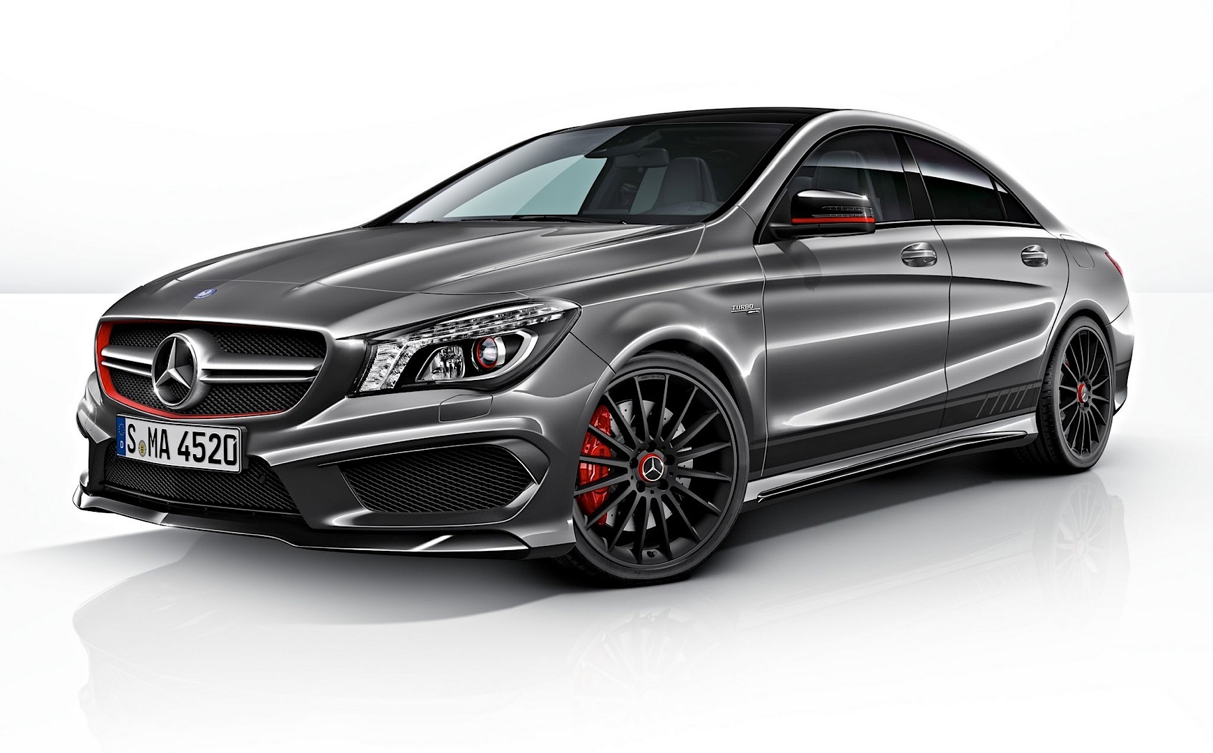 cla 45 amg edition 1 sales are a go autoevolution. Black Bedroom Furniture Sets. Home Design Ideas