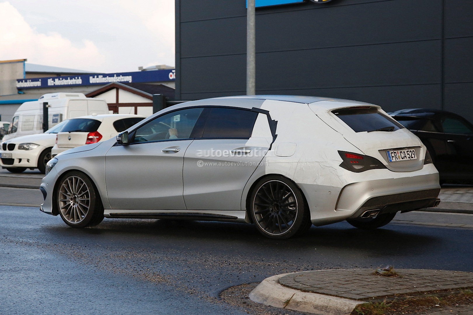 the cla 45 amg shooting brake x117 is yet another non us. Black Bedroom Furniture Sets. Home Design Ideas