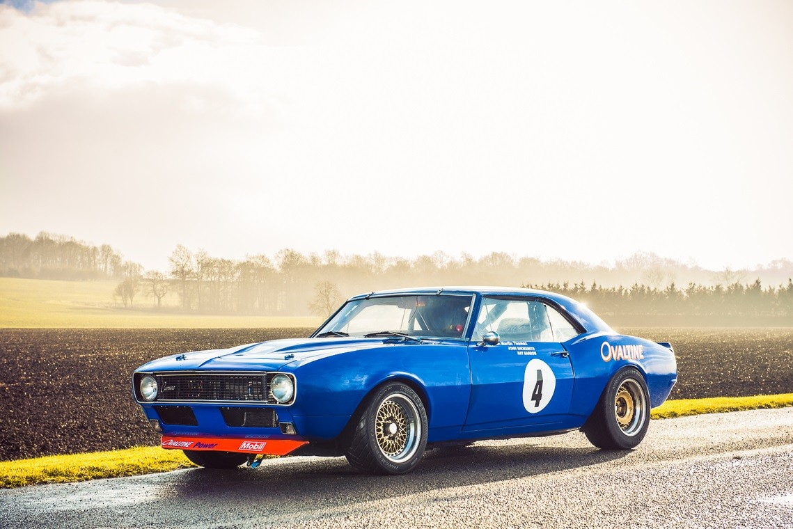 Classic Chevrolet Camaro Race Car For Sale Still Runs