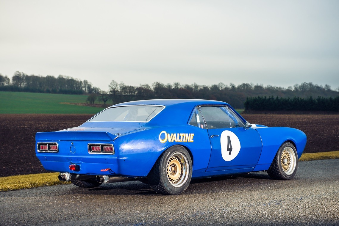 Classic Chevrolet Camaro Race Car For Sale Still Runs Like A Champ 1968 Dodge Charger Drag