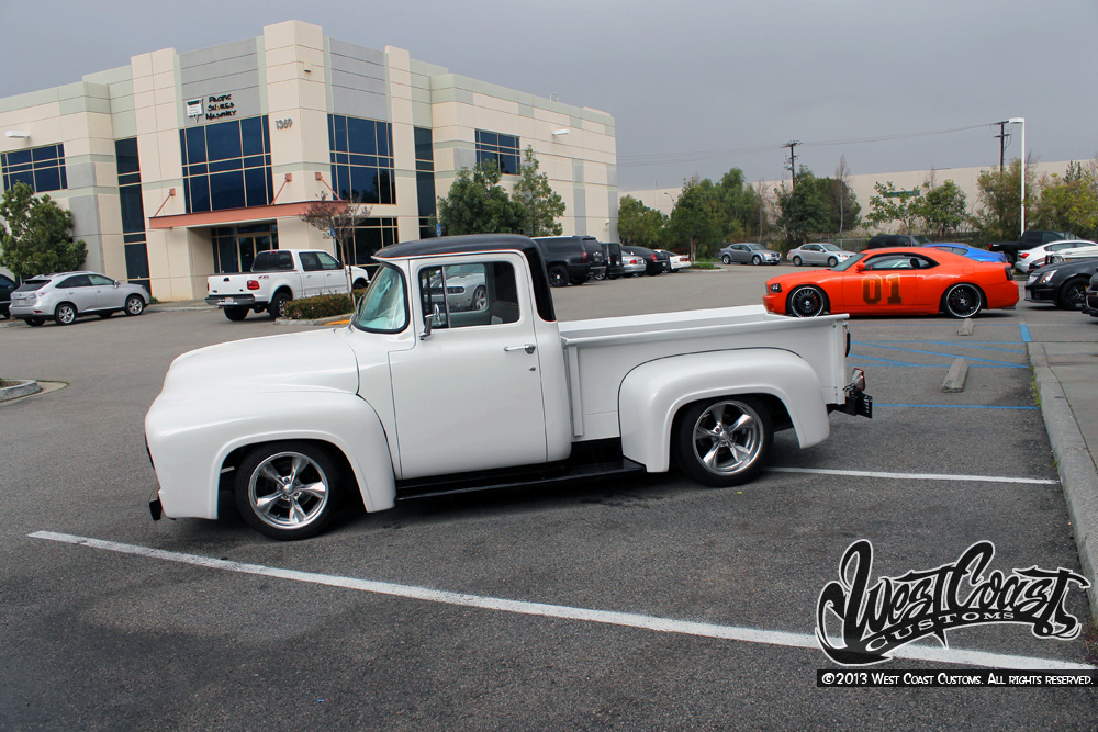 classic ford f 100 pickup truck by west coast customs autoevolution. Black Bedroom Furniture Sets. Home Design Ideas