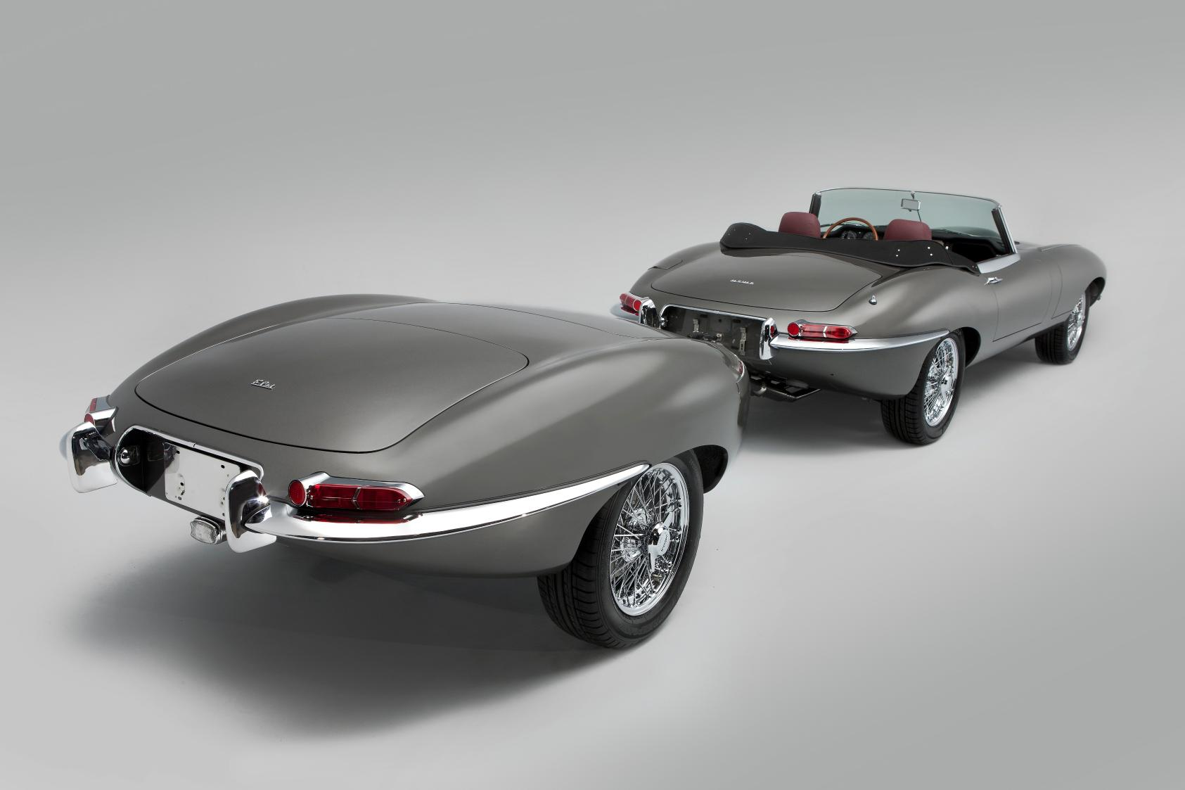 Classic Motor Cars Unveils Unique Jaguar E-Type - autoevolution