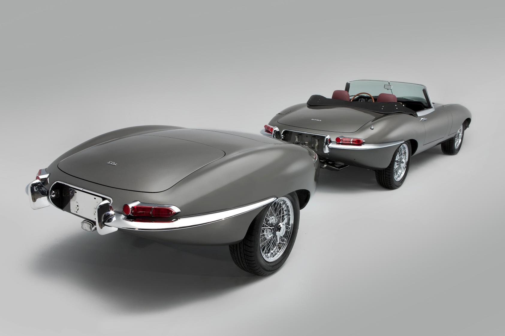 Classic Motor Cars Unveils Unique Jaguar E Type Autoevolution