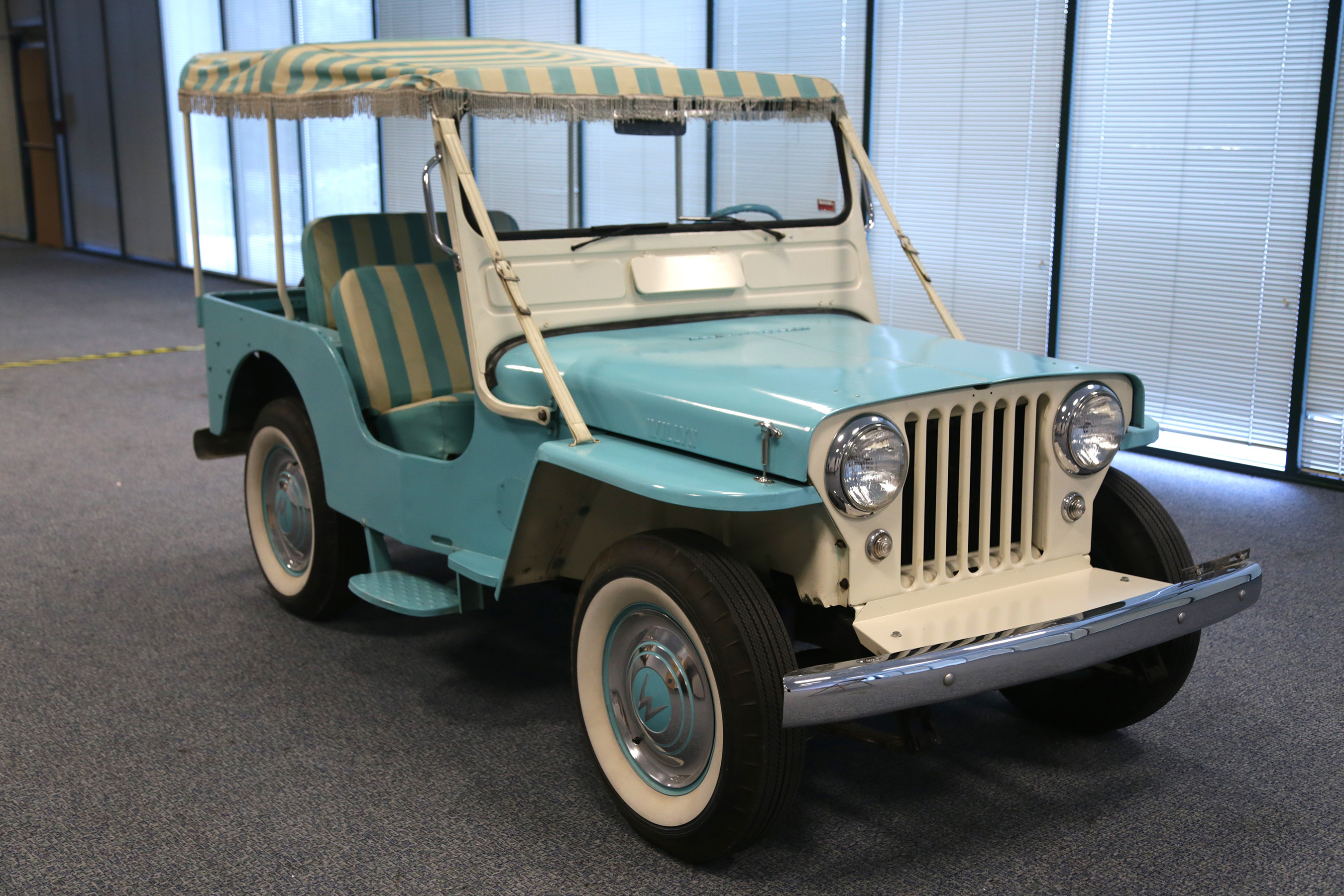 Classic Restored Jeep Collection Heading Sema