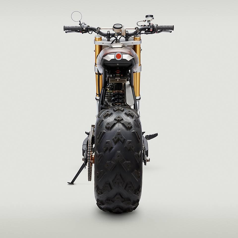 Classified Moto Honda Xr650l Becomes A Sweet Desert
