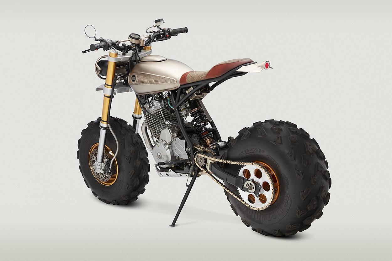 Classified Moto Honda XR650L Becomes a Sweet Desert ...