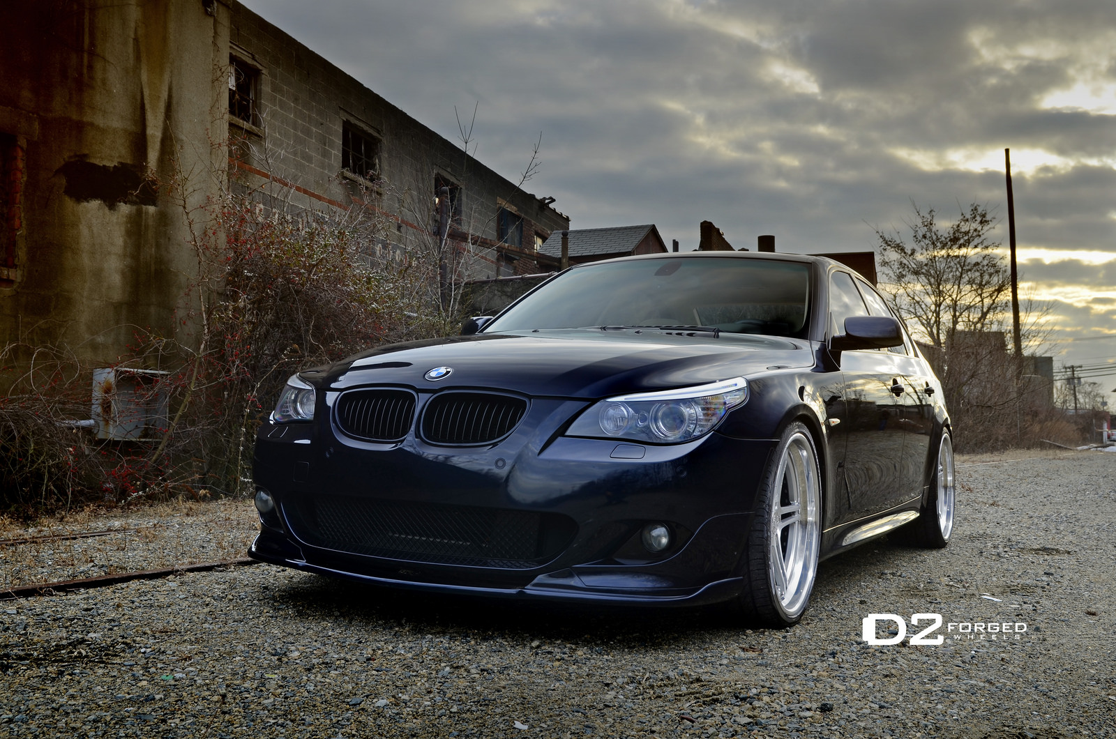 clean bmw e60 5 series on d2forged wheels is here to stay autoevolution. Black Bedroom Furniture Sets. Home Design Ideas