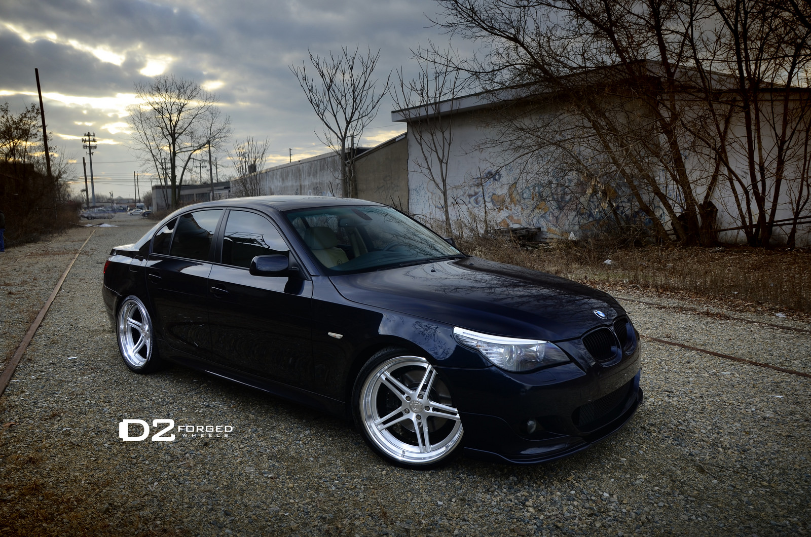 Clean bmw e60 5 series on d2forged wheels is here to stay autoevolution