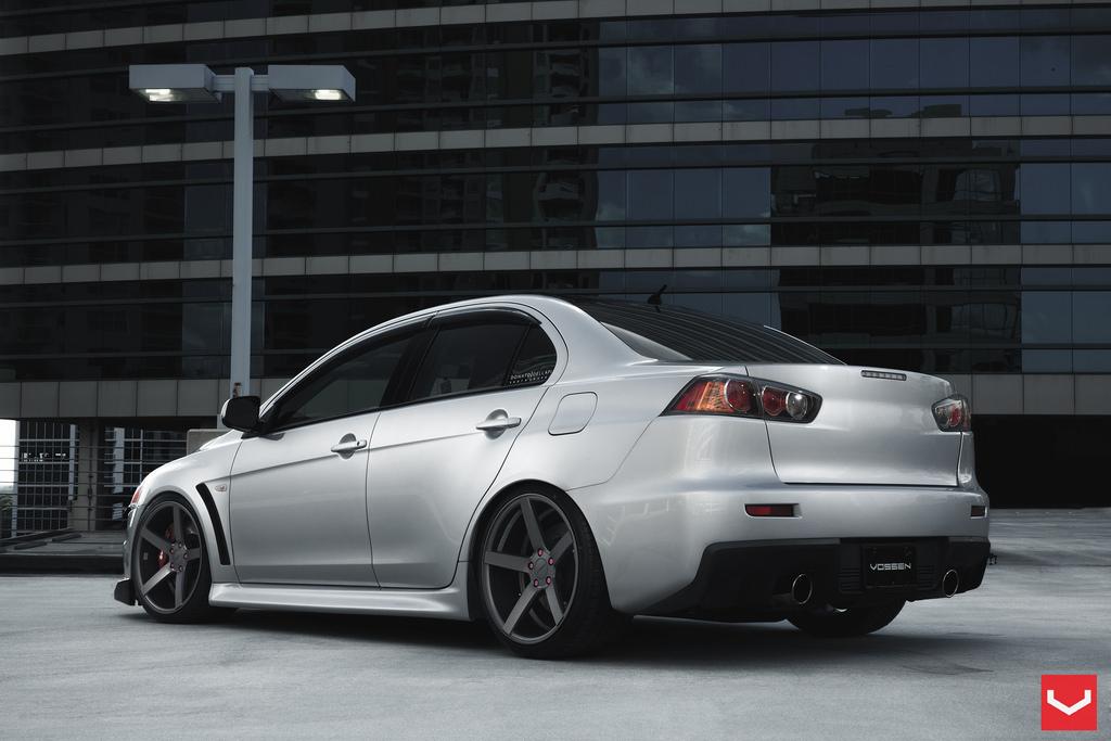 Happy Auto Sales >> Clean Mitsubishi Evo X Rides on Vossen Wheels - autoevolution