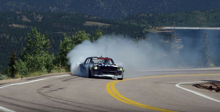 Ken Block smokes Pikes Peak