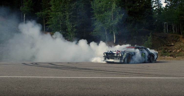 Ken Block Slays More Tires With Climbkhana on Pike's Peak