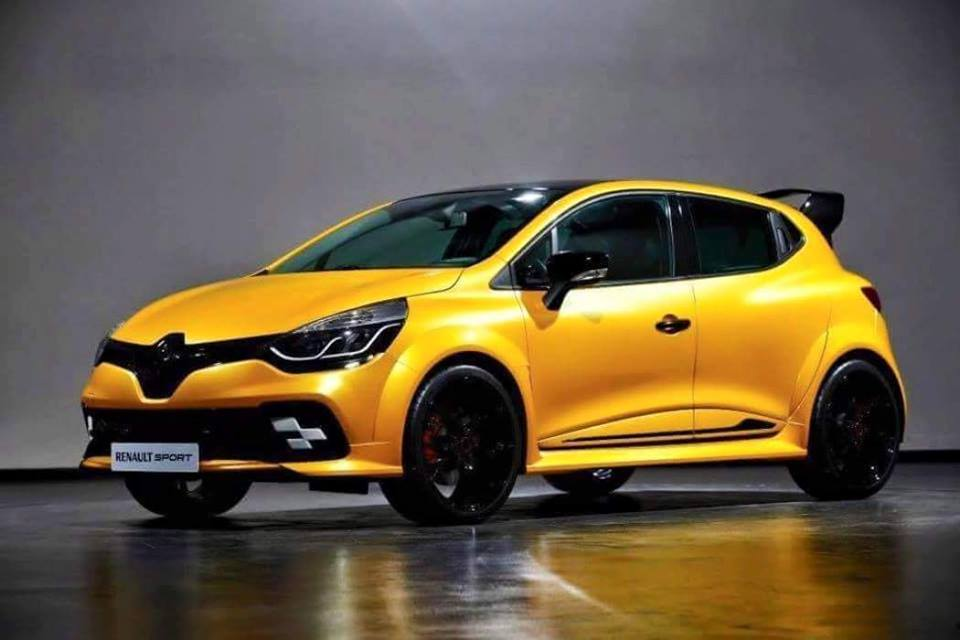 Clio rs kz 01 rumored to have 275 hp megane rs engine autoevolution