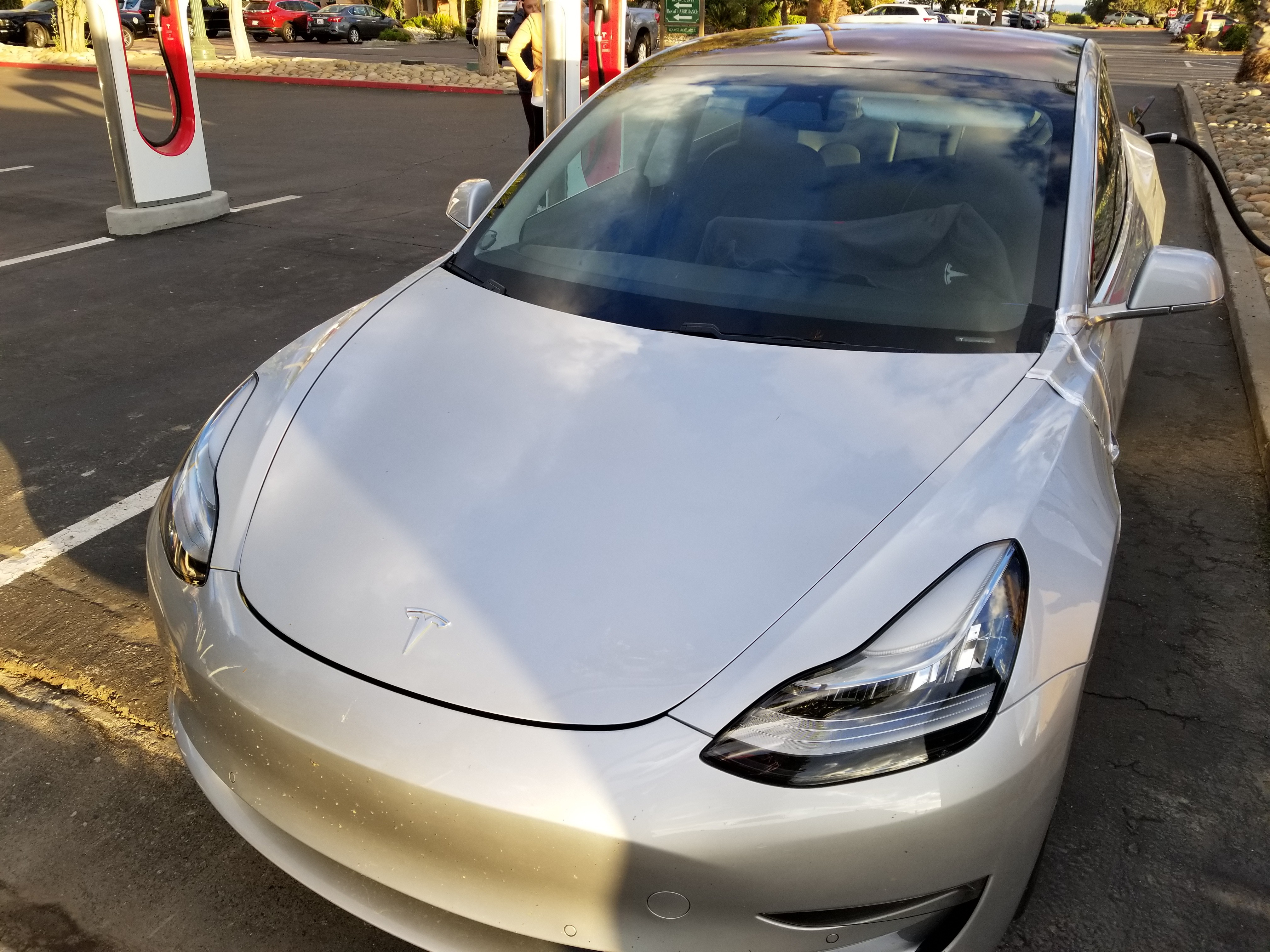 Closest Look Yet At Tesla Model 3 Exposes Panel Gaps ...