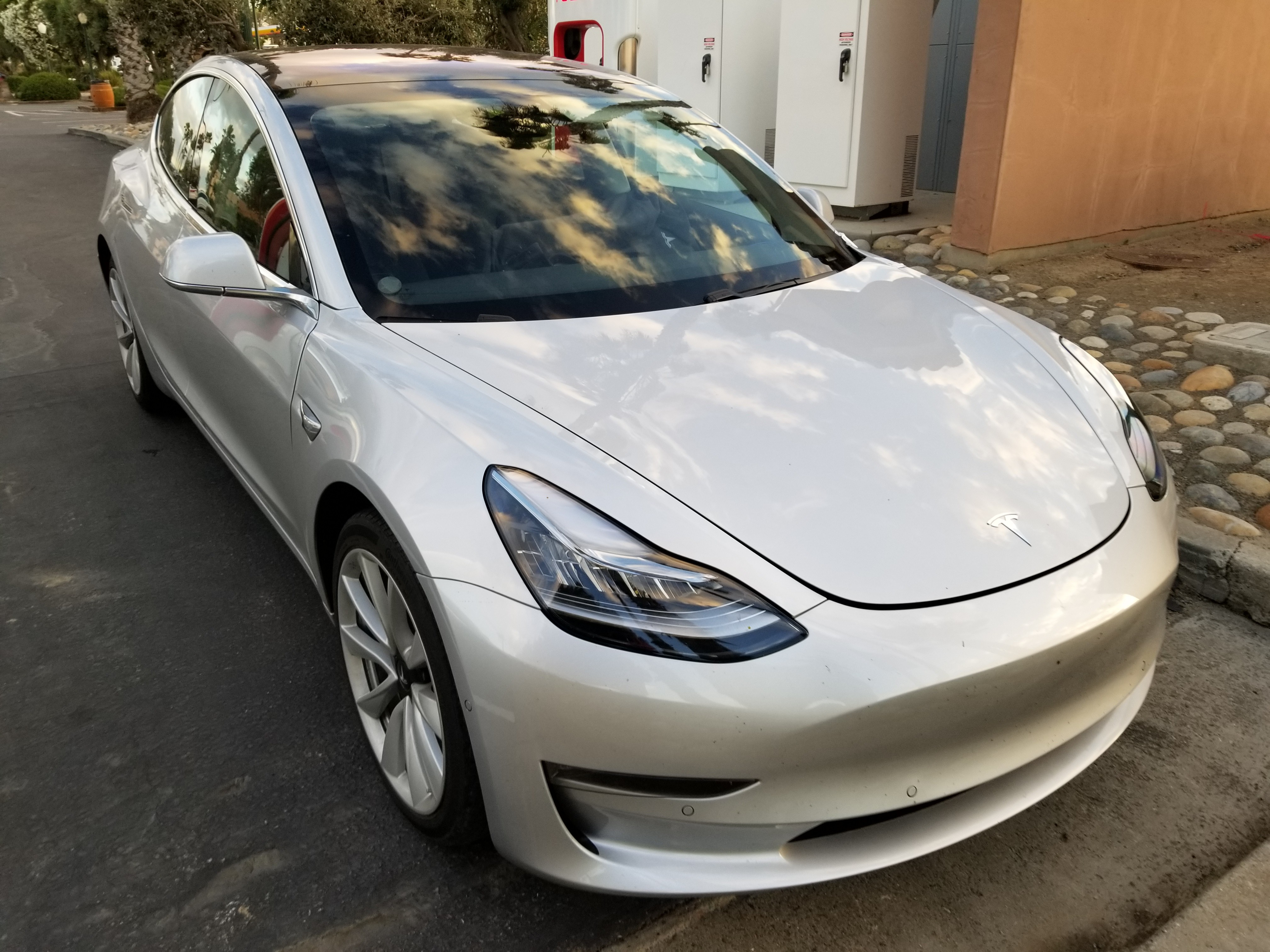 Closest Look Yet At Tesla Model 3 Exposes Panel Gaps