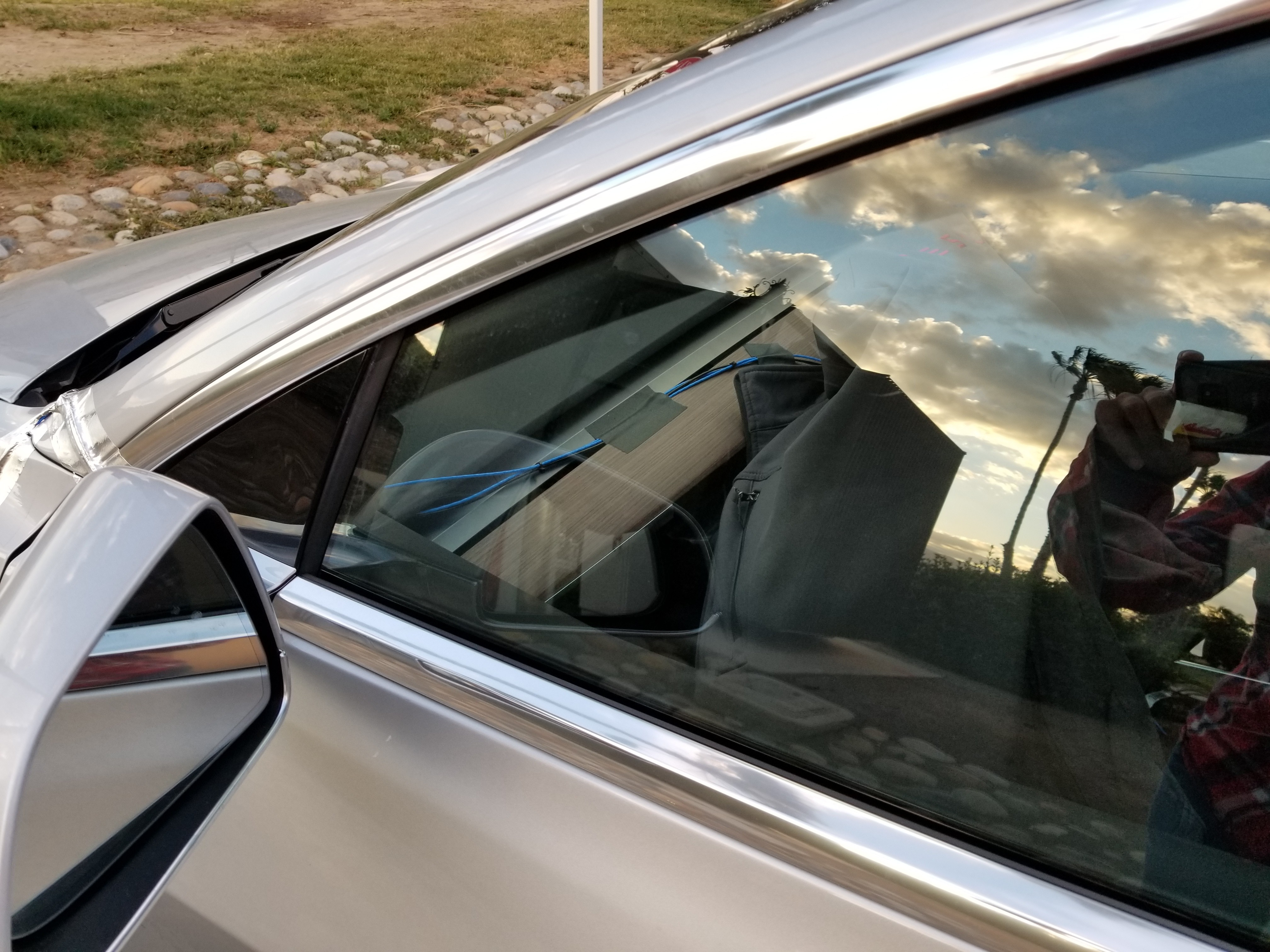 Closest Look Yet At Tesla Model 3 Exposes Panel Gaps, Manual