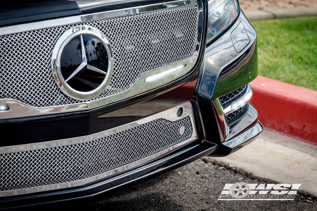 Cls 550 Gets Strut Grille And 20 Inch Gianelle Rims