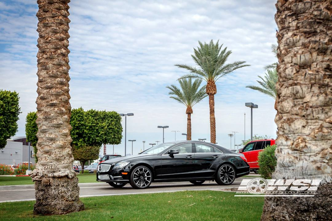 CLS 550 Gets Strut Grille and 20-inch Gianelle Rims ...