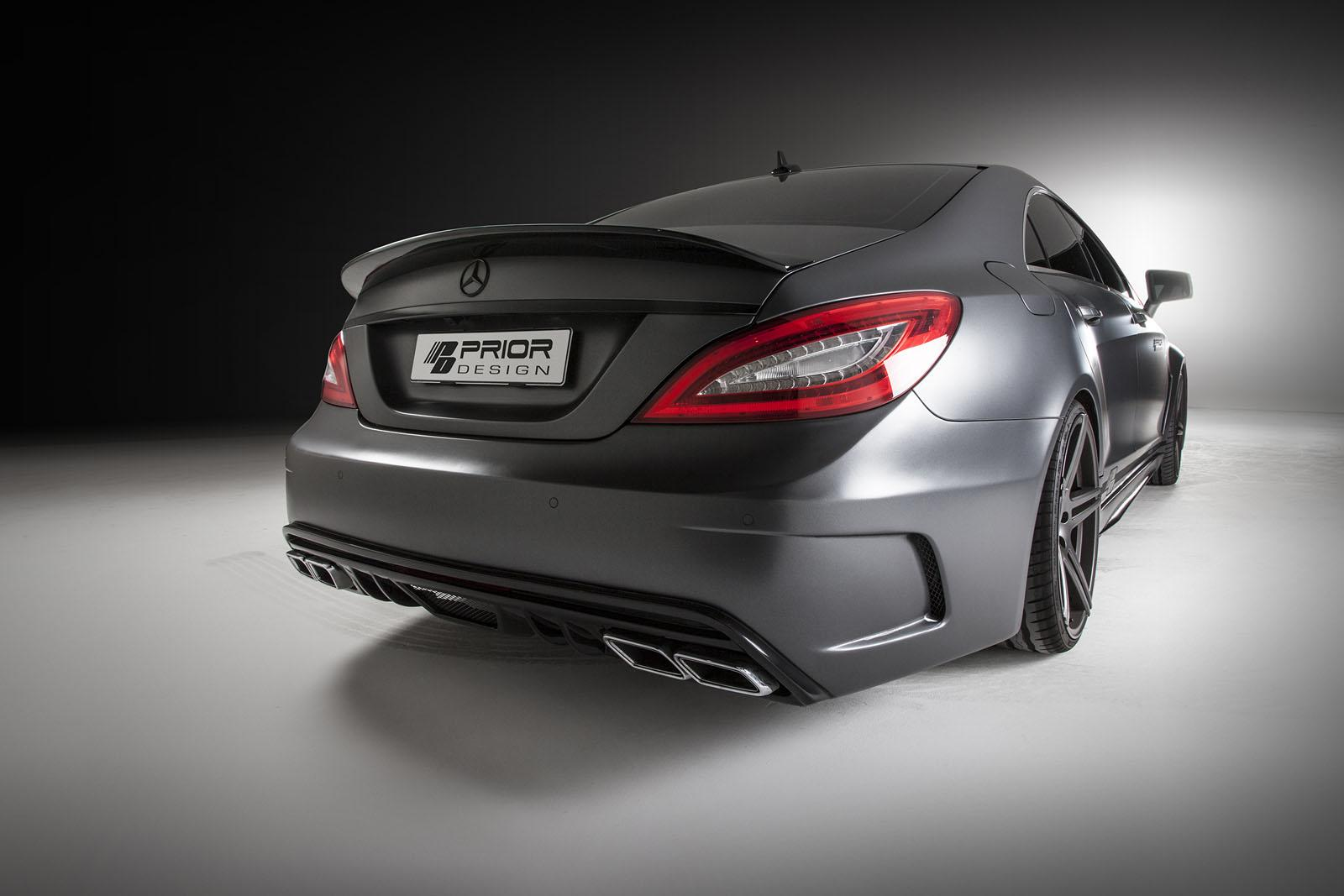 Cls C218 Gets Prior Design Pd550 Black Edition Body Kit