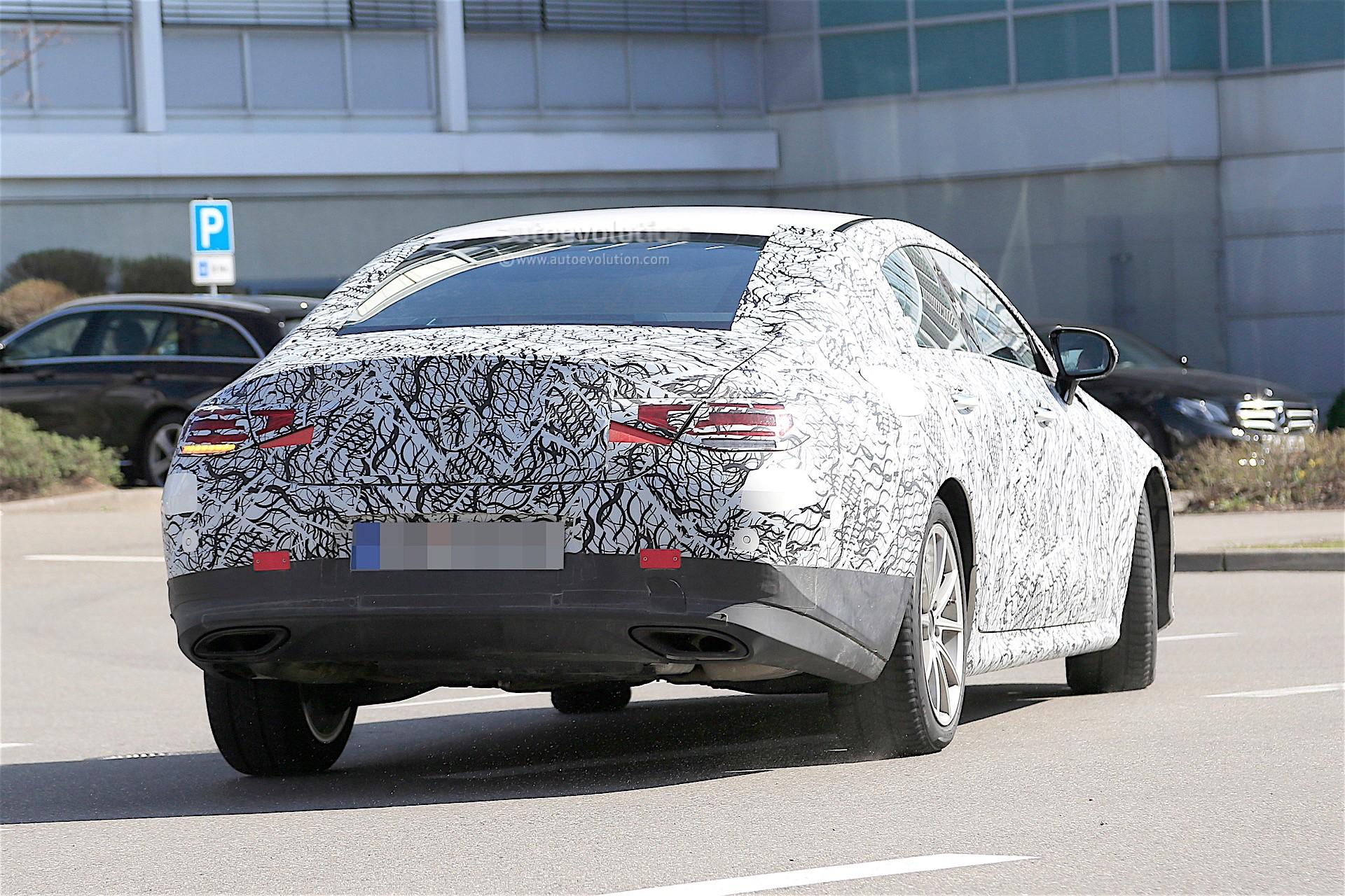 2018 - [Mercedes] CLS III  - Page 2 Cls-spy-baldauf_19