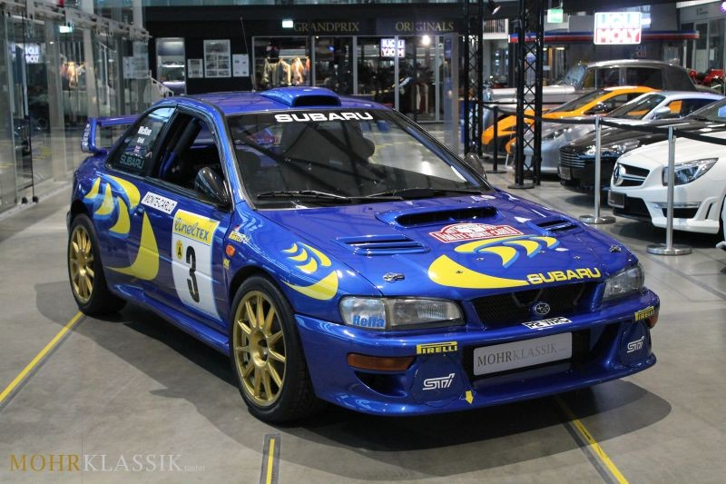 Colin McRae's 1997 Subaru Impreza WRC Is for Sale - autoevolution