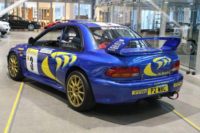 Colin Mcrae S 1997 Subaru Impreza Wrc Is For Sale