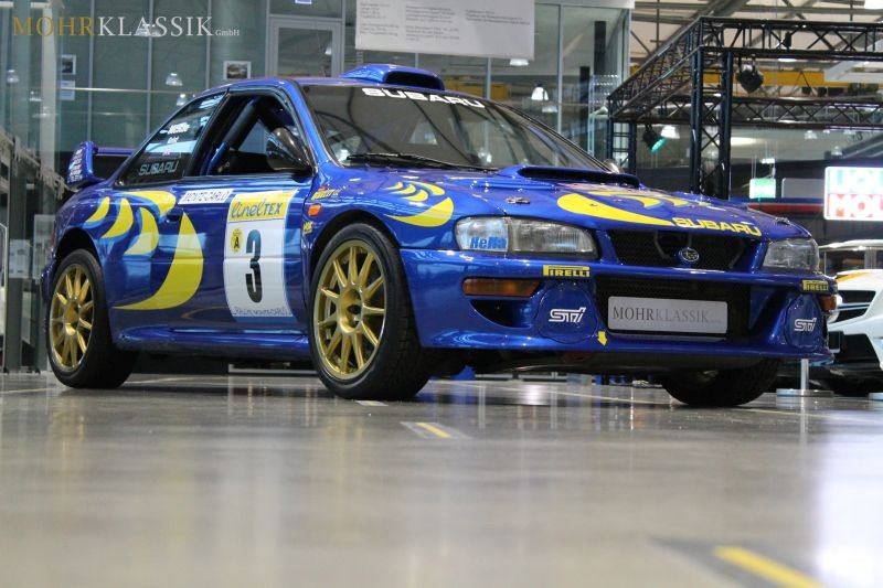 colin mcrae s 1997 subaru impreza wrc is for sale   autoevolution
