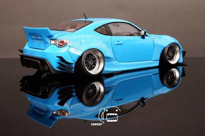 Collectors Build Rocket Bunny Kit For Toyota Gt 86 Scion