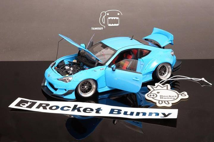 Collectors build rocket bunny kit for toyota gt 86 scion fr s rocket bunny kit for toyota gt 86 scion fr s scale model solutioingenieria Choice Image