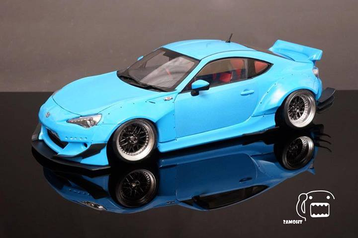 Toyota Company Latest Models >> Collectors Build Rocket Bunny Kit for Toyota GT 86 / Scion ...