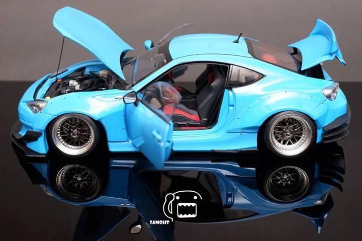 Collectors Build Rocket Bunny Kit for Toyota GT 86 / Scion FR-S Scale Models - autoevolution