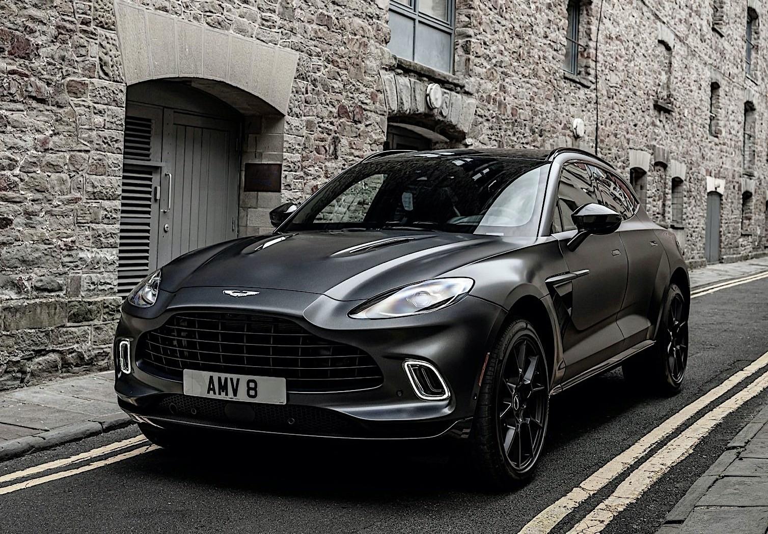 Colorful Aston Martin Dbx Looks Like The Proper Suv For The Future James Bond Autoevolution
