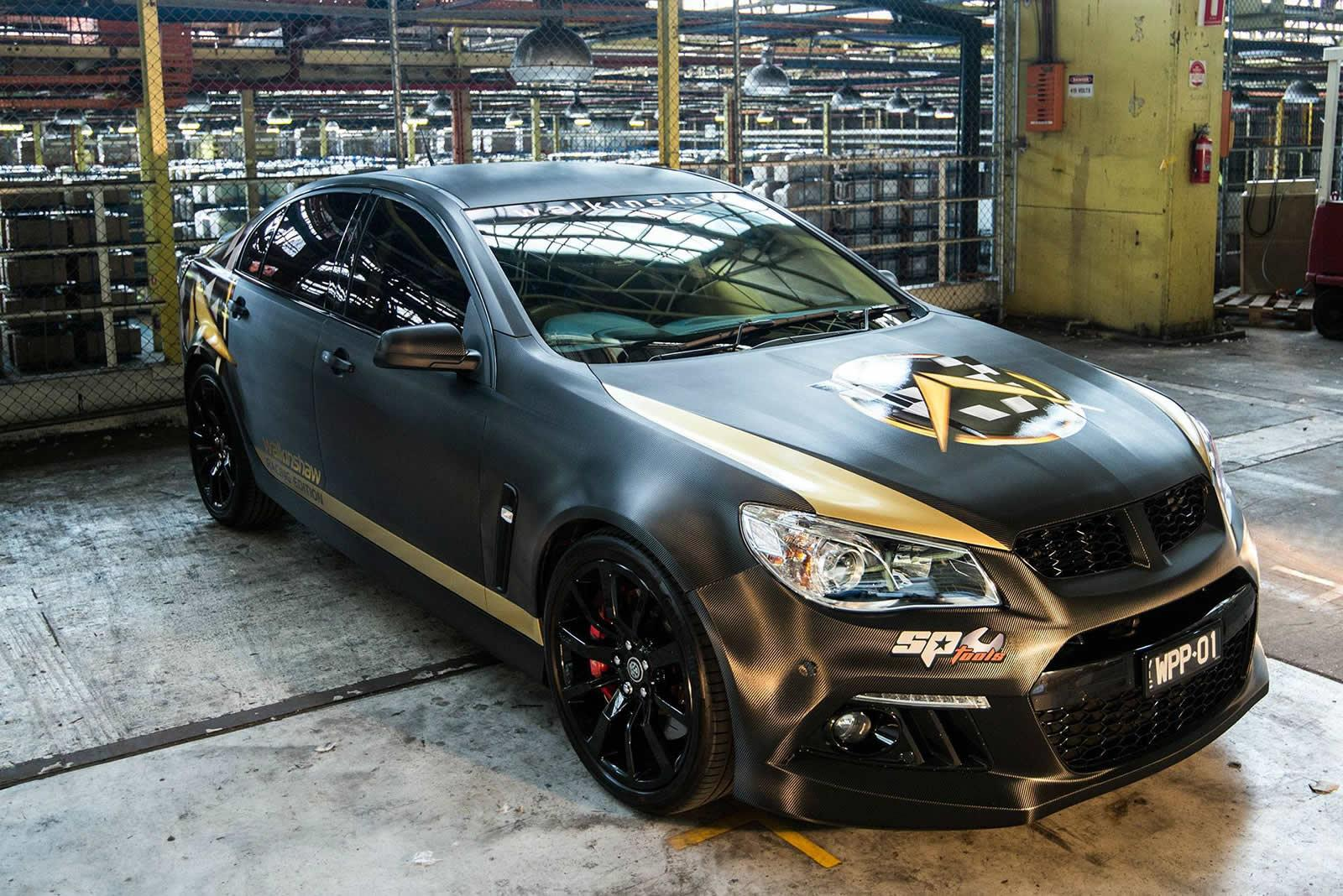 Commodore Pumped to 550 kW by Walkinshaw Performance ...