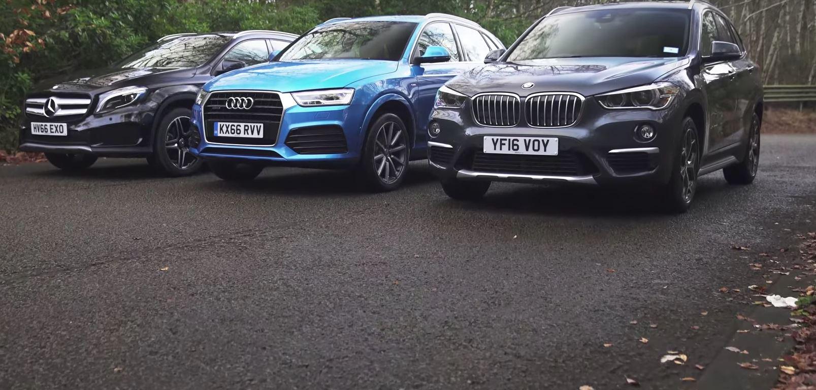 Compact SUV Comparison Finds BMW X Is Better Than Mercedes GLA And - What car is better audi or bmw