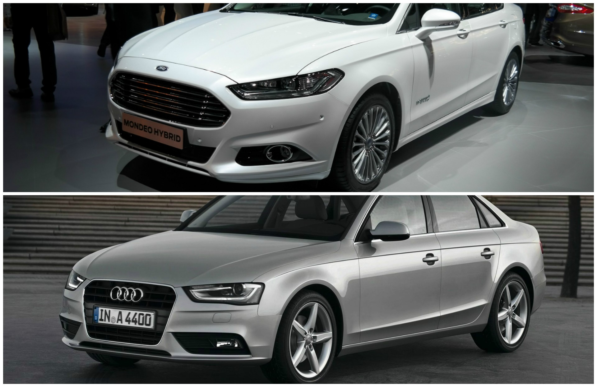 comparison 2015 ford mondeo vs audi a4 sedan autoevolution. Black Bedroom Furniture Sets. Home Design Ideas