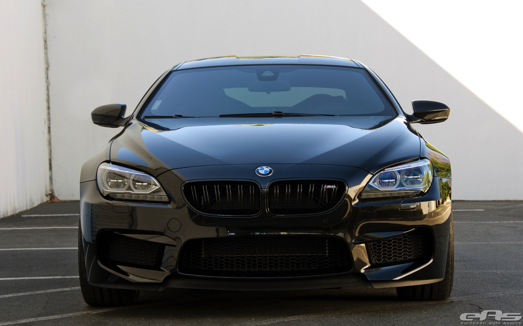 Bmw M6 Gran Coupe >> Competition Package BMW M6 Gran Coupe Goes Completely Black - autoevolution